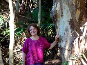 DElisa, angophora tree, Avalon, Australia