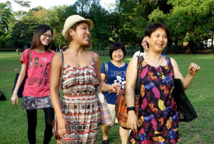 Singapore: Tree Love: Heart of the Forest workshop